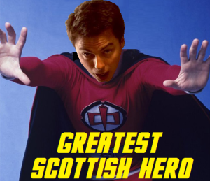 John Barrowman as superhero