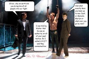 Arrow & Doctor Who mash up