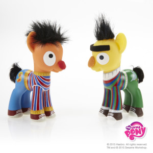MLP Bert & Ernie on Second Geekhood