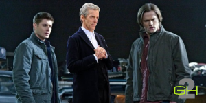 Dean & Sam Winchester & thh 11th Doctor on Second Geekhood