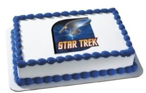 Star Trek Birthday Cake on Second Geekhood